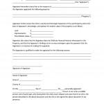 Affidavit Form Free