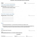 Business Proposal Template Free