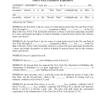 Easement Agreement Template