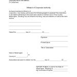 Example Of Affidavit Sample Letters