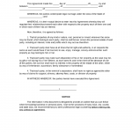 Legal Agreement Form