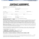 Repair Contract Agreement