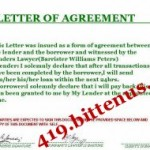 Agreement Document
