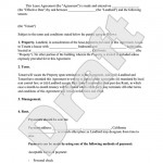 Amendment To Lease Agreement Form