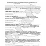 Contractor Agreement Sample