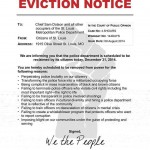 Evition Notice