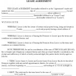 Free Rental Agreement Form