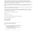 Income Verification Letter Sample