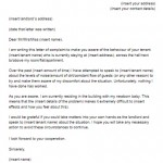 Landlord Complaint Letter