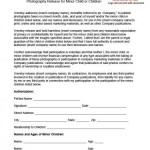 Photography Release Form Template
