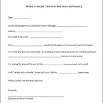 Printable Eviction Notice