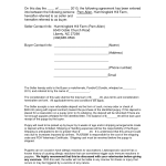 Purchase Agreement Form