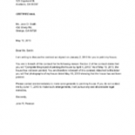 Sample Breach Of Contract Letter