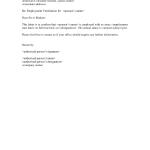 Sample Income Verification Letter