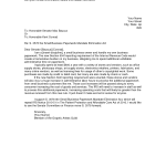 Sample Letter To Irs