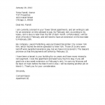 Sample Past Due Rent Letter
