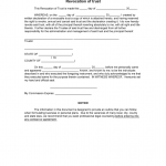 Trust Documents Template