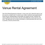 Venue Rental Contract
