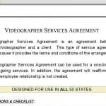 Videographer Contract