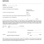 Waiver Document
