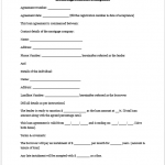 loan repayment contract template