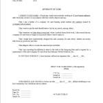 Affidavit Examples