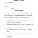 Affidavit Of Character