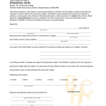 Affidavit Of Support Sample