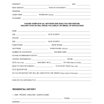 Apartment Lease Form