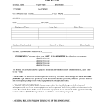 Apartment Rental Agreement