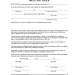 As-Is Bill Of Sale