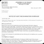 Audit Notice