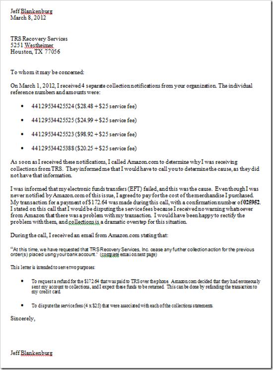 Bank Account Verification Letter