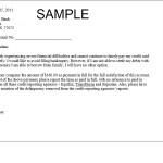 Bebt Settlement Letter Sample