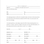 Bill Of Sale Forms