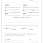Bill Of Sales Form