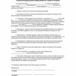 Broker Contract Sample