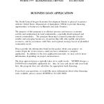 Business Loan Letter