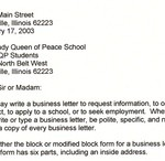Business Loan Letter Sample