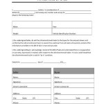 Camper Bill Of Sale Form Free