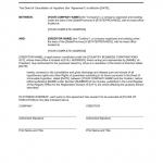 Cancellation Notice Form