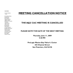 Cancellation Notice Form