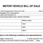 Car Bill Of Sale