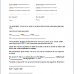 Car Payment Contract Template