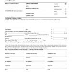 Change Order Form