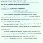 Child Support Modification Letter Sample