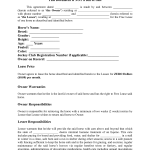 Contract For Rent To Own Home Forms