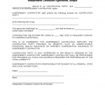 Contractor Agreement