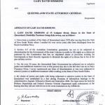 Court Affidavit