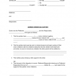 Custody Agreement Sample